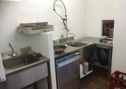 La cuisine, côté lavage