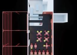 Plan initial du projet (vue 3D)